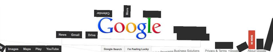 Google gravity pour des recherches originales