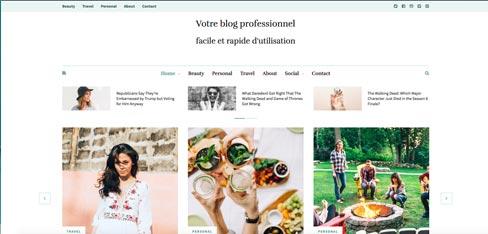 Création de blog professionnel à lille et arras