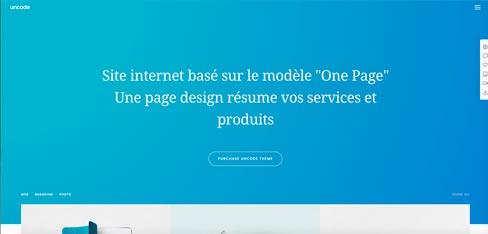 Création de site one page à Arras et Lille