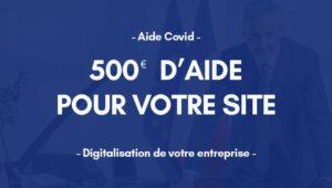 L'Etat annonce une aide de 500€ pour la création de site internet
